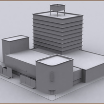 Movie Sets, Low Poly 03 image 8