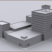 Movie Sets, Low Poly 03 image 10