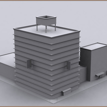 Movie Sets, Low Poly 03 image 12