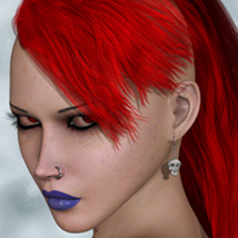 FWs Styles for SAV Alpha Moikana Hair by StudioArtVartanian by FWArt