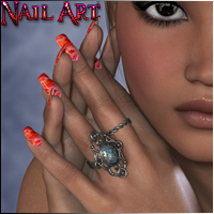 P3D NailArt 2D And/Or Merchant Resources Morphs/Deformers Software P3Design