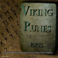 Viking Runes 2D And/Or Merchant Resources Themed antje
