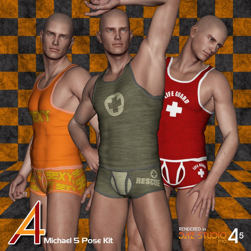 4ADZ M5 Pose Kit Set 1