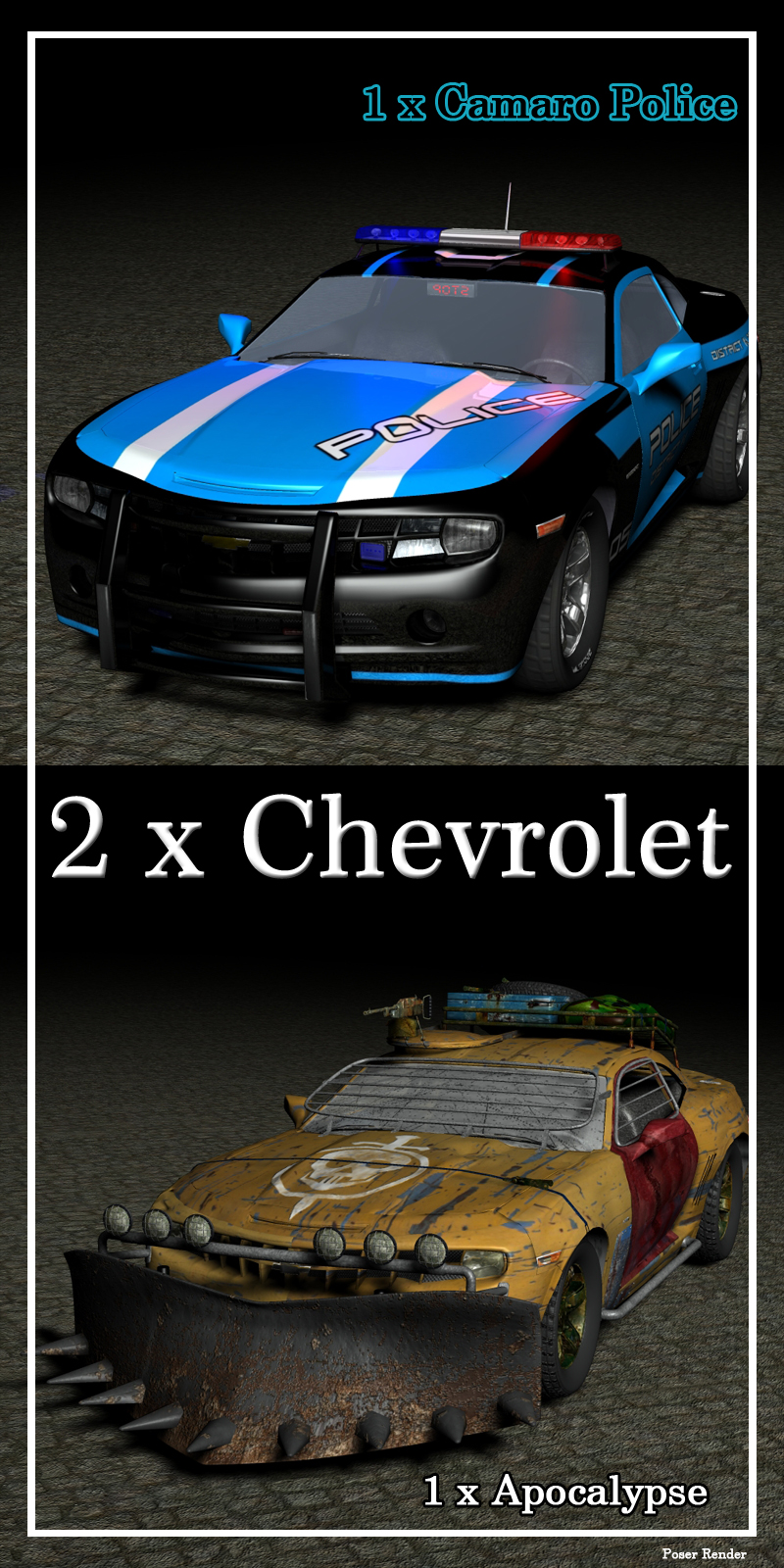 Chevi Camaro 2in1