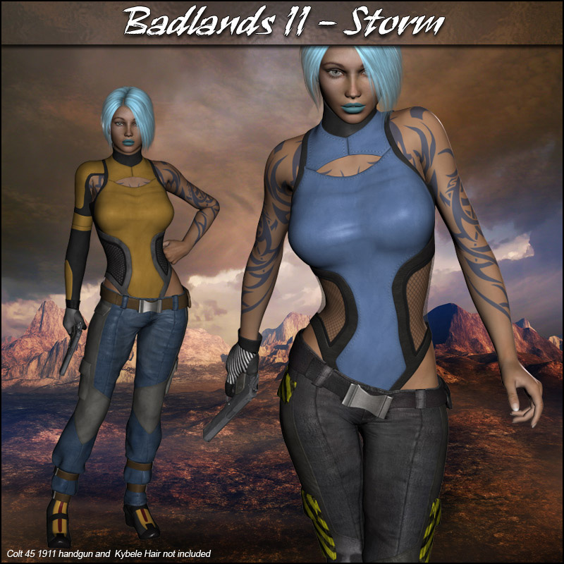 Badlands II - Storm