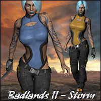 Badlands II - Storm 3D Figure Essentials Gaming RPublishing