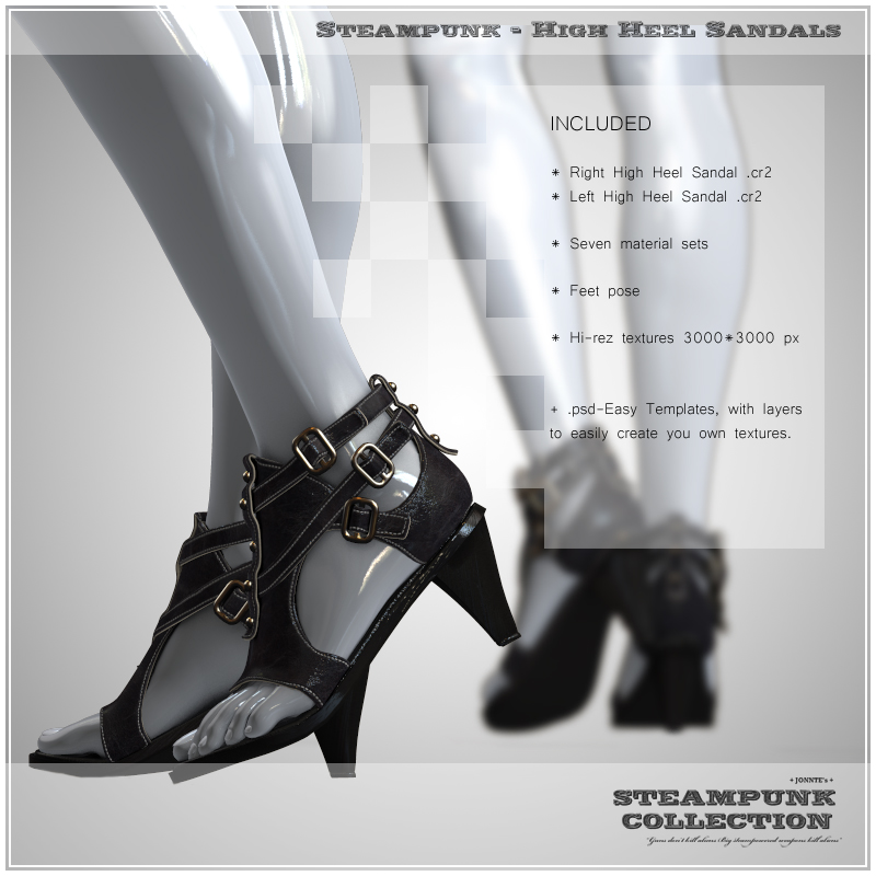SP - High Heel Sandals for V4