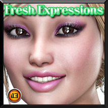i13 FRESH expressions for V4 Poses/Expressions Themed ironman13