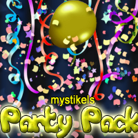 mystikels Party Pack 2D mystikel