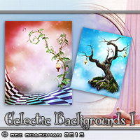 Eclectic Backgrounds 1 Themed 2D And/Or Merchant Resources Bez
