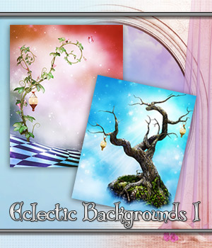 Eclectic Backgrounds 1 2D Graphics Bez