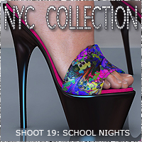 NYC School Nights Themed Footwear 3DSublimeProductions