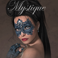 MDD Mystique for V4.2 3D Figure Assets Maddelirium