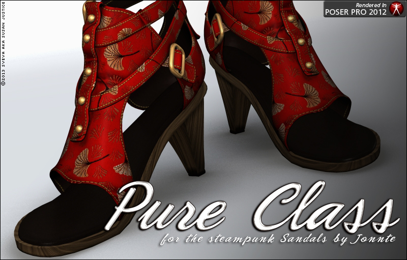Pure Class for Steampunk Sandals