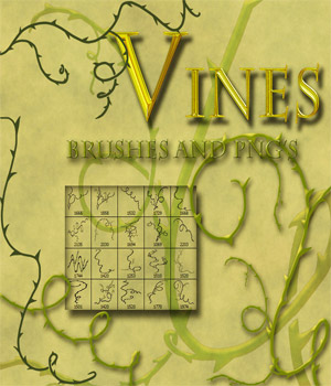 Vines 2D Graphics antje