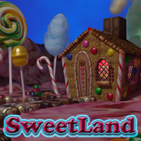 Exnem SweetLand - Scene Software Props/Scenes/Architecture Themed exnem