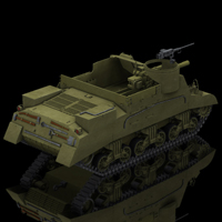 M7 Priest (for Poser) image 1