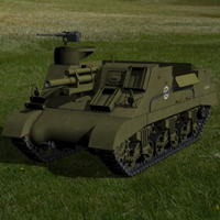M7 Priest (for Poser) image 2