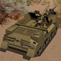 M7 Priest (for Poser) image 4