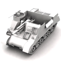 M7 Priest (for Poser) image 5