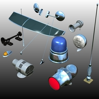 VINTAGE CARS ACCESSORIES BUNDLE (for Poser) 3D Models 3DClassics