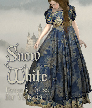 SnowWhite for V4 3D Models 3D Figure Essentials Tipol