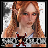 ShoXoloR for Galadrel Hair Hair ShoxDesign