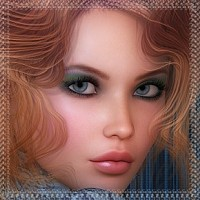 In Love with Neomi- Colors and Styles for Neomi-Hair 3D Figure Essentials Angelmoon