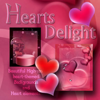 Hearts Delight Themed 2D And/Or Merchant Resources antje