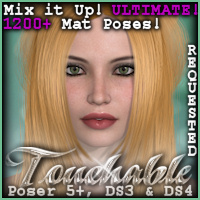 Touchable Nykta Themed Hair -Wolfie-