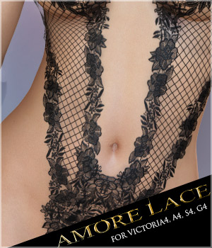 Amore Lace 3D Figure Essentials 3D Models lilflame