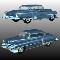 CADILLAC FLEETWOOD 1953 Software Themed Transportation Nationale7