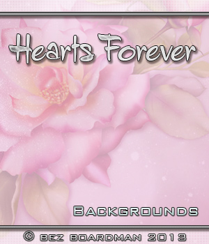 Hearts Forever 2D Graphics 3D Models Bez