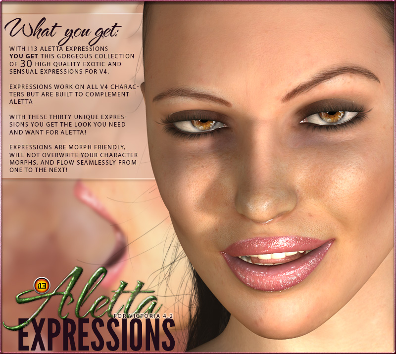 i13 Aletta expressions for V4