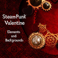 SteamPunk Valentine 2D And/Or Merchant Resources Themed antje