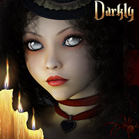 RM Darkly V4A4 3D Figure Essentials rebelmommy
