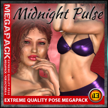 i13 Midnight Pulse MEGA PACK Poses/Expressions ironman13