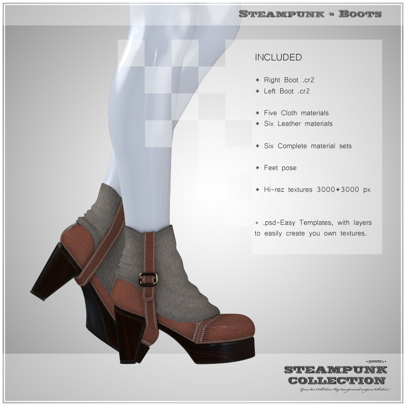 SP - Boots for V4