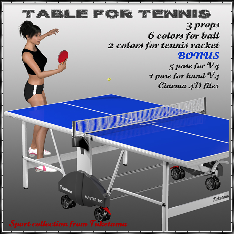 Table for tennis