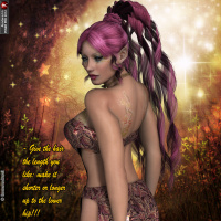 Orabella Hair For V4 And A4 image 5