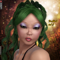 Orabella Hair For V4 And A4 image 6