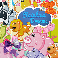 Rainbow Dreams 2D Graphics Atenais