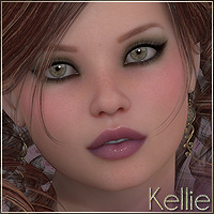 SV7 Kellie 3D Figure Essentials Seven