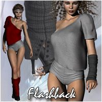 Flashback - 80s Dancer Clothes Themed Accessories Clothing Software RPublishing