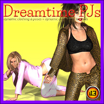 DREAMTIME PJs Tutorials Poses/Expressions Materials/Shaders Clothing ironman13