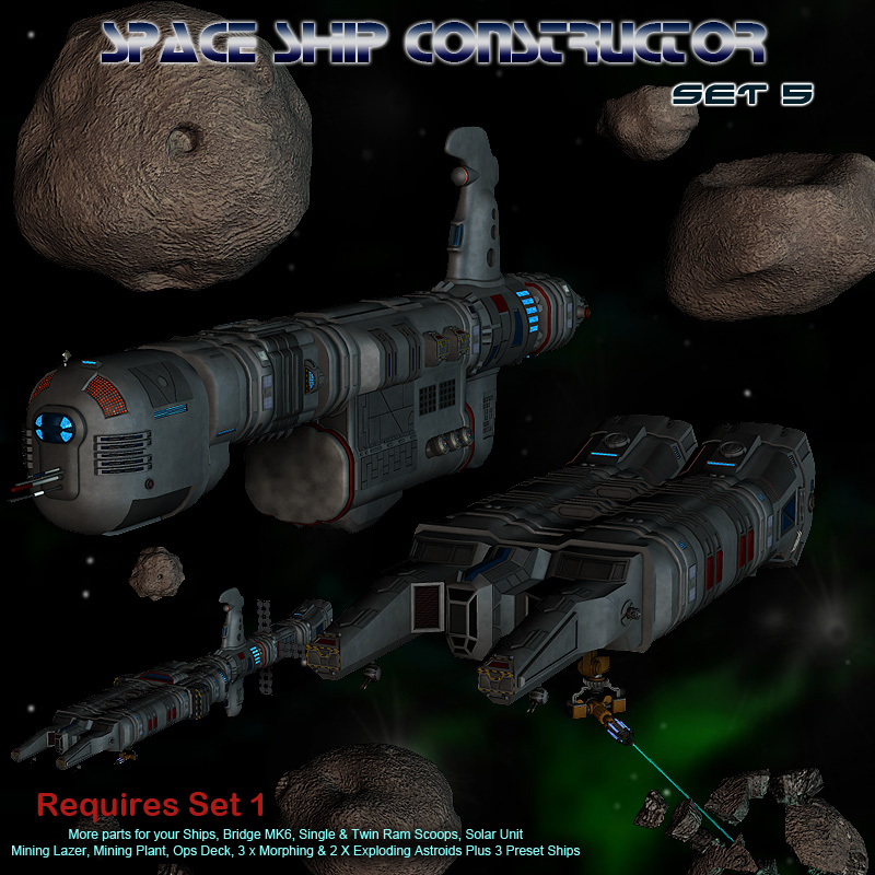 Space Ship Constructor Set 5