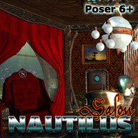 Nautilus: Salon Props/Scenes/Architecture Themed Transportation Cybertenko