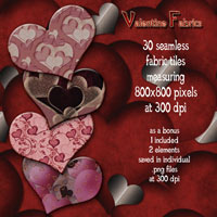 Valentine Fabrics Themed 2D And/Or Merchant Resources antje