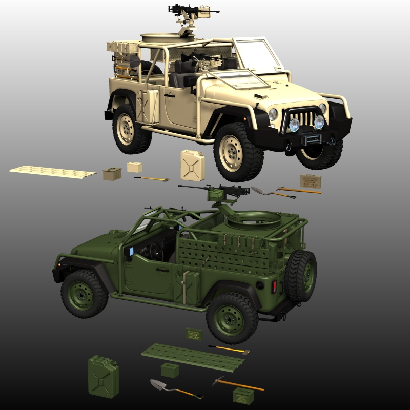 JEEP J8 LPV BUNDLE ( for POSER )