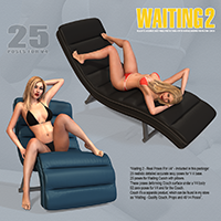Waiting 2 - Real Poses For V4 image 2